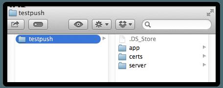 push-ios-folder-project